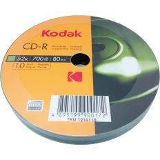 CD-R  Kodak, 700MB, 52x, 10 buc